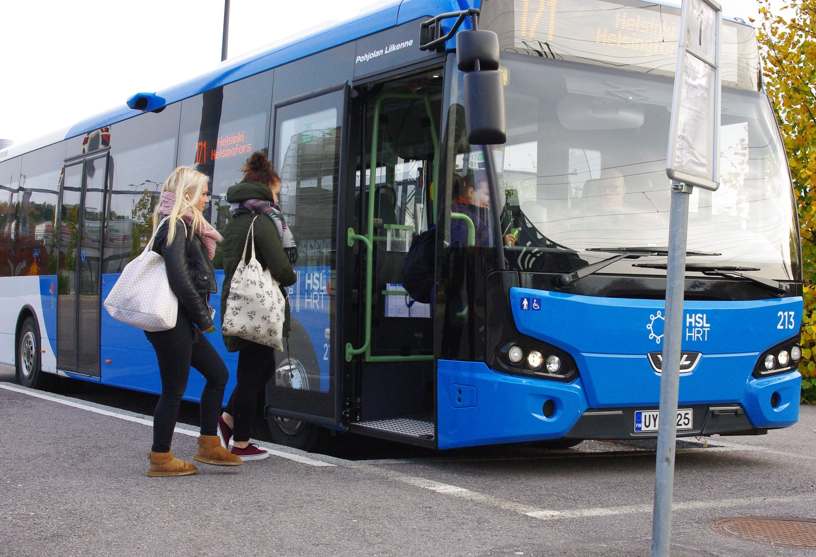 Bussit Helsinki Turku